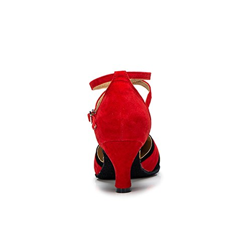 misu Rot Tanzschuhe Damen Rot rot rwzrapx