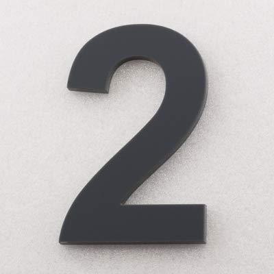 T/ürnummer Plexiglas Hausnummer Acryl Anthrazit RAL: 7016 Post Nummer