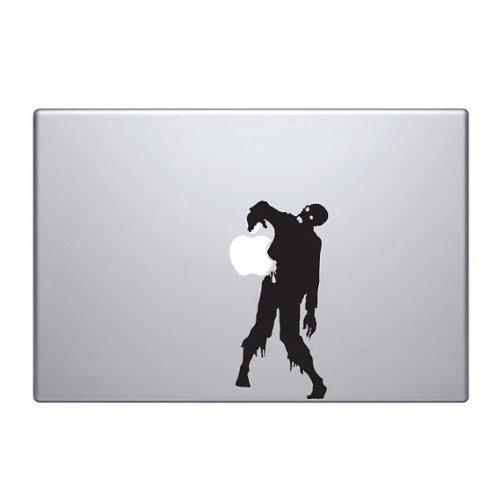Zombie Walking Vinyl Car Sticker Symbol Silhouette Keypad Track Pad Decal Laptop Skin Ipad Macbook Window Truck Motorcycle ()