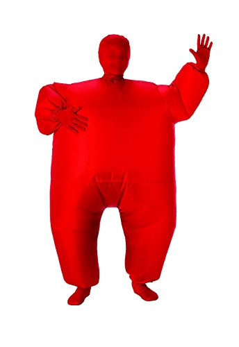 Child's Inflatable Full Body Suit, Red, One ()