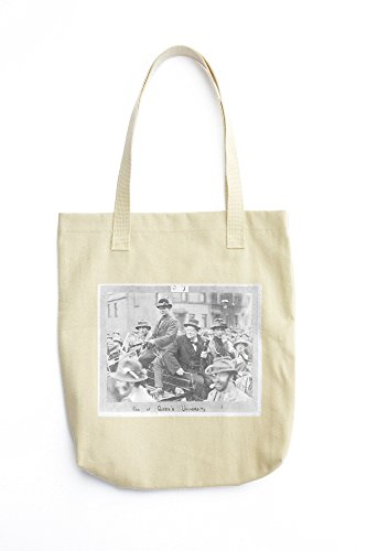 Winston Churchill in cart. printed Tote bag price