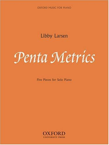 Download Penta Metrics: Five pieces for solo piano pdf epub