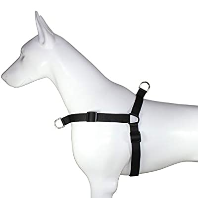Hiado Dog Harness with Front Clip and Back Clip No Pull Adjustable