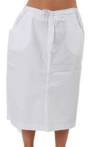 MAZEL UNIFORMS Womens MID Calf Length Scrub Skirt with Drawstring