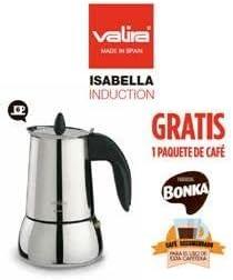 CAFETERA VALIRA ISABELLA 6TZ + PAQ. BONKA 9281/: Amazon.es ...