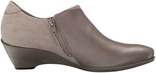 Ecco Donna Da Donna Scolpita 45 Zeppa Slip On Pump Warm Grey / Warm Grey