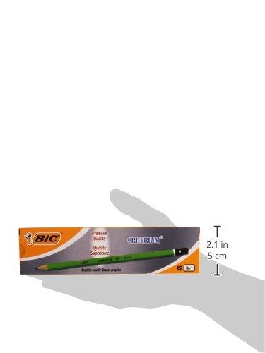 BIC Criterium 550 5B 5B, Verde, Hexagonal L/ápiz