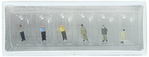 Preiser 88561 Standing Men Package(6) Z Model Figure for sale  Delivered anywhere in USA