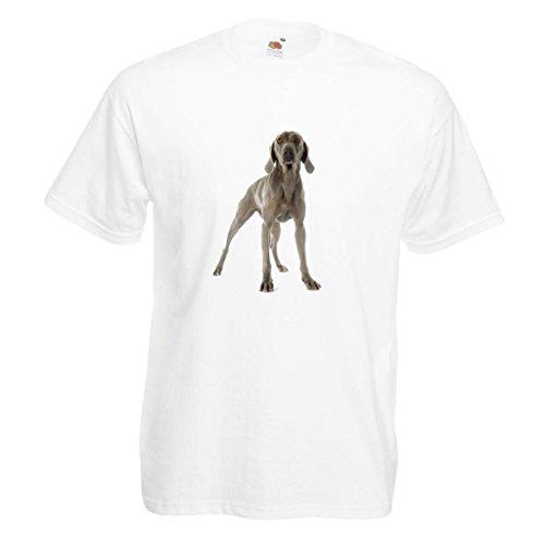 - 1StopShops Weimaraner Dog Image White Standard T-Shirt