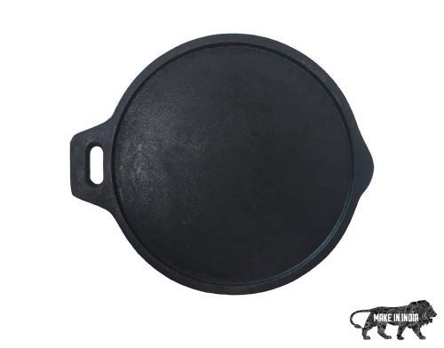 Bhagya Cast Iron Cookware Dosa Tawa - 12-inch