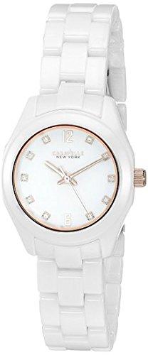 (Caravelle New York Women's Quartz Stainless Steel Dress Watch (Model: 45L159) )