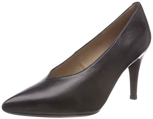 Mujer Black Black Negro na para de Unisa Zapatos Tani Tacón Ox8wgYn