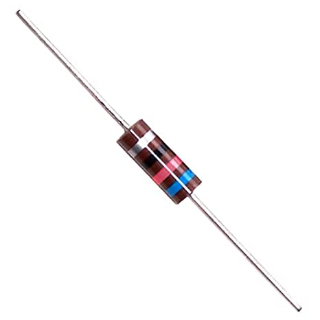 NTE Electronics 5W311 Through Hole Resistor 11 kOhm Resistance 550V Inc. 5/% Tolerance Wire Wound 5W Axial Leaded
