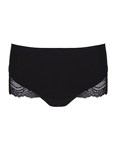 SPANX Women's Undie-Tectable Lace Hi-Hipster Panty Black Medium