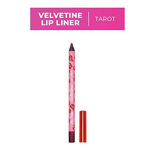 Lime Crime Velvetines Lip Liner, Tarot - Blackberry Matte - Soft Long-Lasting Matte Lip Lining Pencil - Waterproof - Wont Smudge, Bleed or Transfer - Vegan - 0.042oz