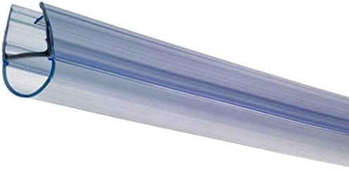 Croydex - Riel de Enganche para mampara de baño (se Ajusta a 4, 5 y 6 mm, para Paneles de 100 cm Grosor): Amazon.es: Hogar