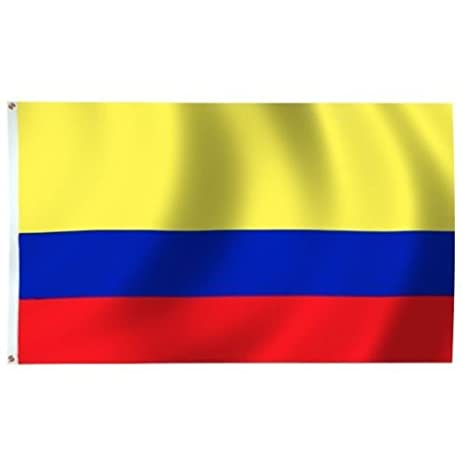 amazon com 5 x8 colombia colombian flag 5x8 foot flag banner