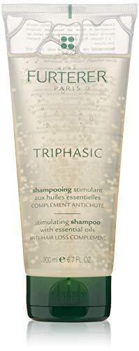 Rene Furterer TRIPHASIC Strengthening Shampoo, Thinning Hair, Scalp Microcirculation, Men & Women, 6.7 oz.