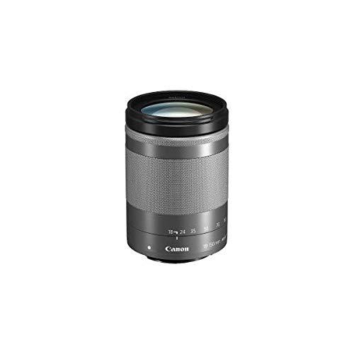 Canon EFM18-150ISSTMSL 交換用レンズ EF-M18-150mm F3.5-6.3 IS STM シルバー EF-M18-150F3.5-6.3I ds-2100789   B07K355TVM