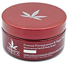 Hempz Frosted Pomegranate & Sugar Plum Shimmering Body Butter 8z
