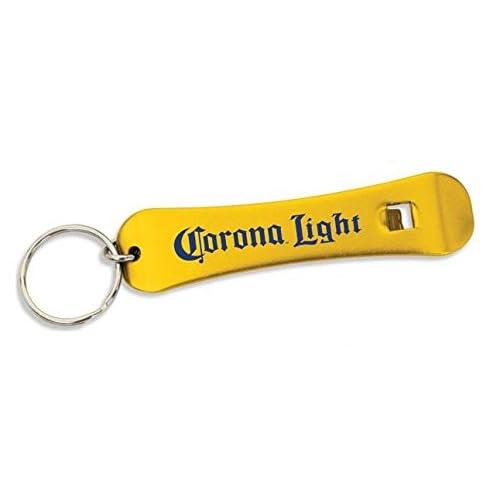 Corona Light Snowboard Beer Bottle Opener w/ Key Ring
