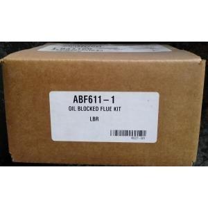 LENNOX ABF611-1 OIL BLOCKED FLUE SAFETY SWITCH KIT FOR USE w/REAR FLUE BASEMENT STYLE OIL FURNACES