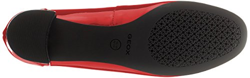Femme Red Carey Rouge Geox D Escarpins Xqtd8xaw