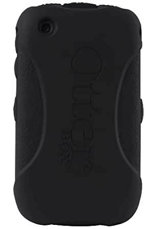 OtterBox BlackBerry Curve 8500/9300 Impact Series Case - Retail Packaging - Black