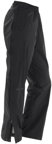 Marmot PreCip Full Zip Pant - Women's Black Small Long