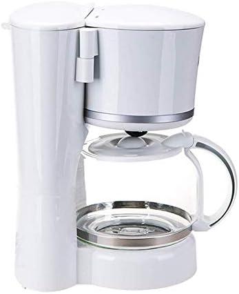 Qinmo Machine à café glacé, Filtre Automatique Machine à café Goutte à Goutte Cafetière avec Verre Anti-déflagrant Pot, Conservation de la Chaleur, Filtre Amovible, des ménages