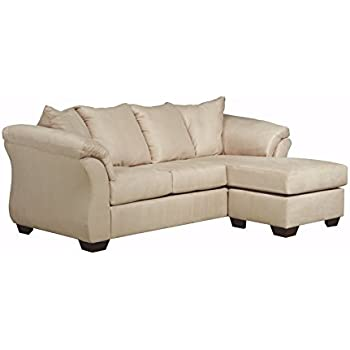 Amazon ACME Vogue Reversible Sectional Chaise Beige