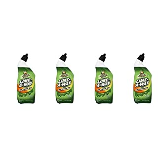 Lime-A-Way Liquid Toilet Bowl Cleaner, 24 fl oz Bottle, Removes Lime Calcium Rust (Pack of 12) (4)