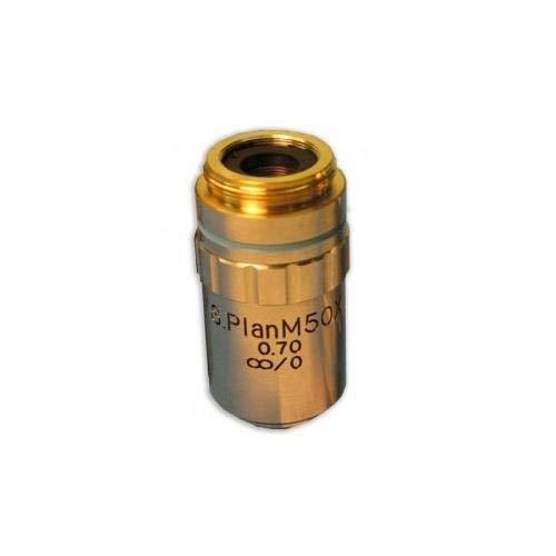 Plan Achromat M50X Metallurgical Objective S Meiji Techno MA344