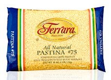 Ferrara - Italian Pastina #75, (4)- 16 oz. Pkgs.