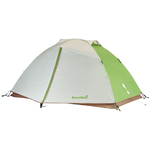 Eureka! Apex 2XT Waterproof Backpacking Tent – Lightweight 3-Season Single Pole Fiberglass Construction – Pine Bark/Blue Dawn/Foliage