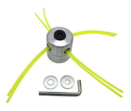 Leader_Pneumatic Lawn Mower Head Grass Trimmer Head Brush Cutter Head Lawn Mower Accessories