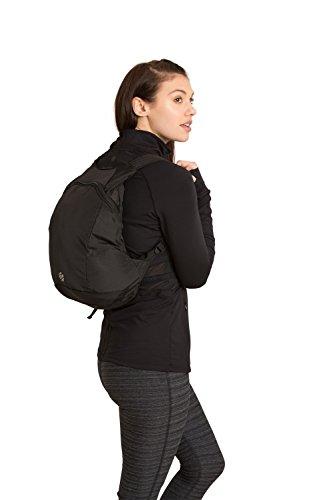 Zakti Packaway Backpack Negro Talla única Negro