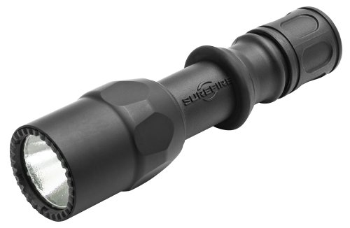 SureFire G2ZX Single-Output LED CombatLight with Tactical tailcap switch, Black