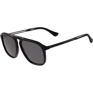Calvin Klein Men's Ck4317s Oval Sunglasses, Black, 58 mm