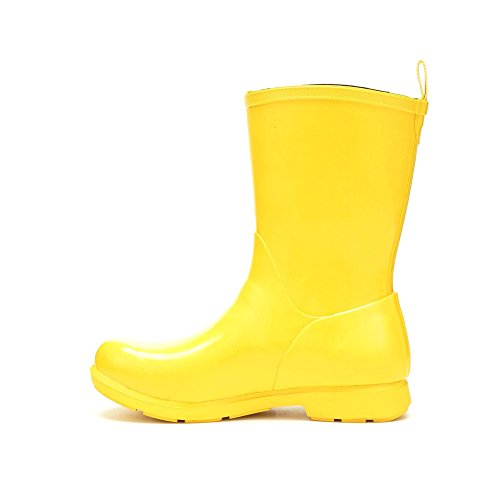 Wellies Boots Yellow Mid Muck Womens Bergen nA6aWqWf48