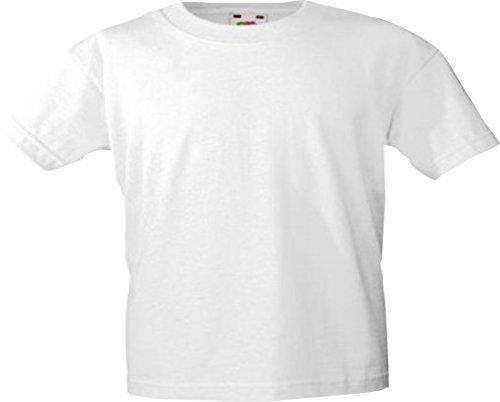 shirtinstyle Kinder-Shirt Basic UNI Fruit of the Loom div. Farben Größe 104-164