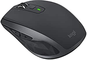 Logitech MX Anywhere 2S Wireless Mouse with Flow Cross-Computer Control and File Sharing for PC and Mac