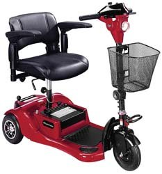 Phantom Travel Scooter Options - Color: (Drive Phantom 3 Wheel Scooter)