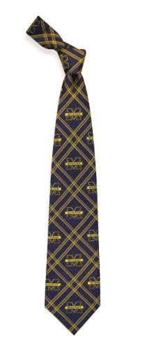 Eagles Wings Michigan Wolverines Woven Polyester 2 Tie