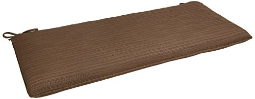 Oxford Garden Wexford Bench Cushion, Dupione Walnut (Garden Oxford Cushions)