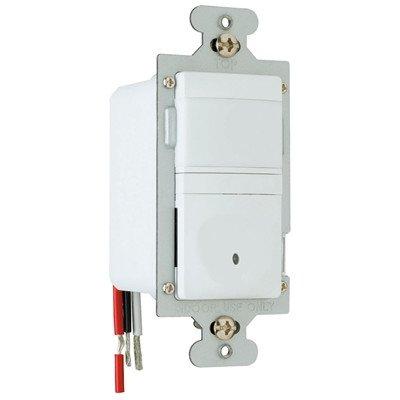 Pass & Seymour RWU600U-WCC4 Wall Switch Occupancy Sensor, Auto On/Off, 120V, 600W, White