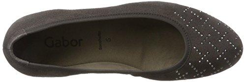Gabor Women's Basic Closed Toe Heels Grey (19 Zinn 19) FZBQJHKw4