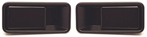 - DELPA CL3628 > Outside Outer Exterior LH & RH (Half Height) Door Black Handles Fits: Jeep Wrangler