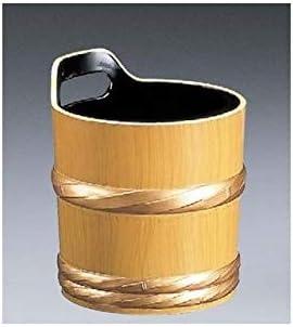[福井クラフト] 手桶型ワインクーラー 白木塗