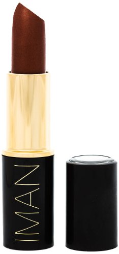 IMAN Luxury Moisturizing Lipstick Total 12 Options (588-Sheer Iced Tea) (Lipstick Ice)
